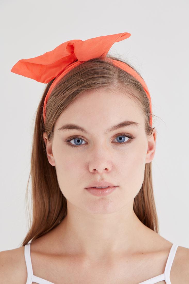 Bayan Turuncu Saç Bandı