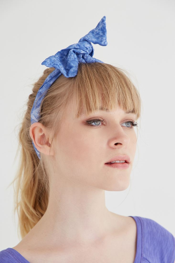 Mavi Saç Bandı