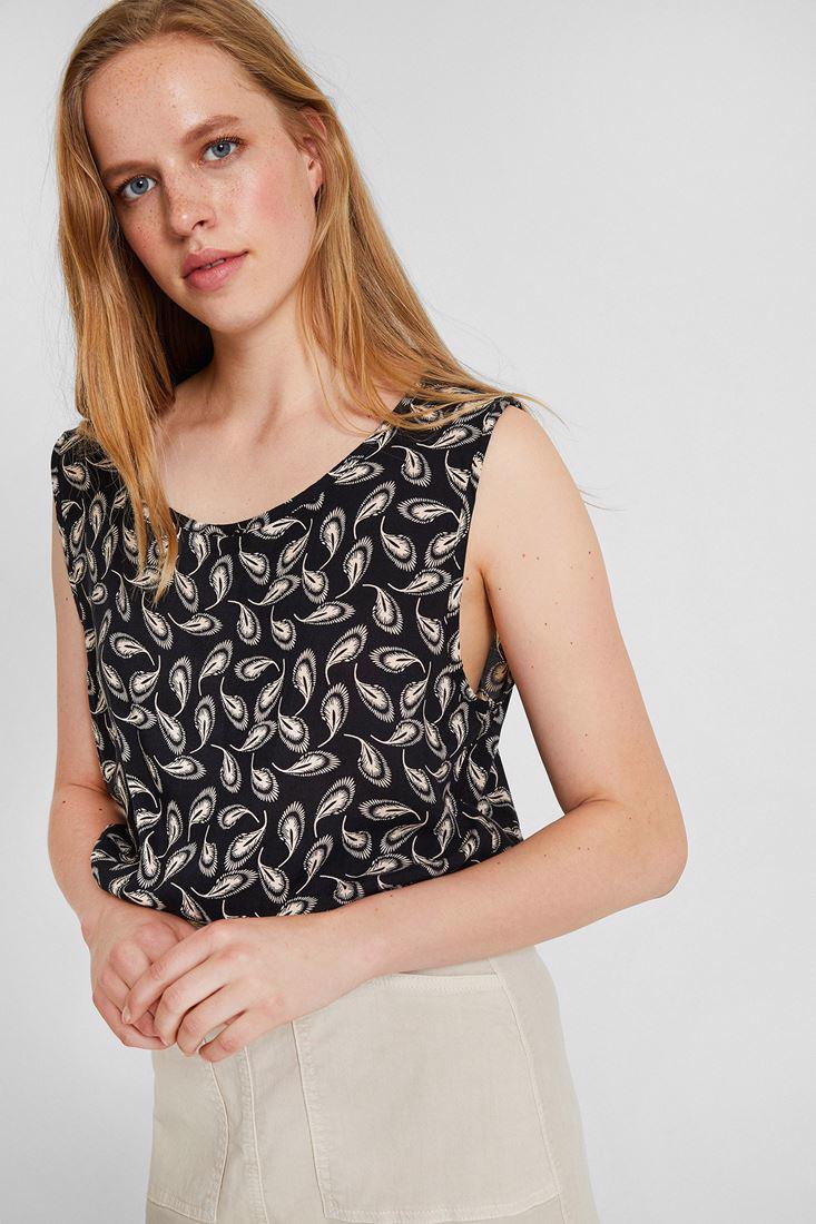 Women Mixed Printed Crop Blouse
