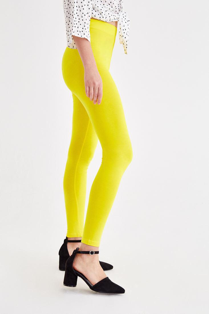 Women Yellow High Rise Jeggings