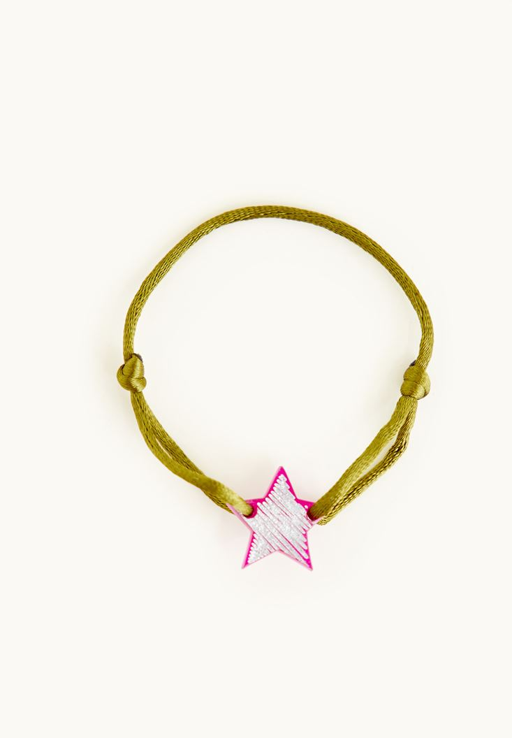 Mixed Bracelet With Star