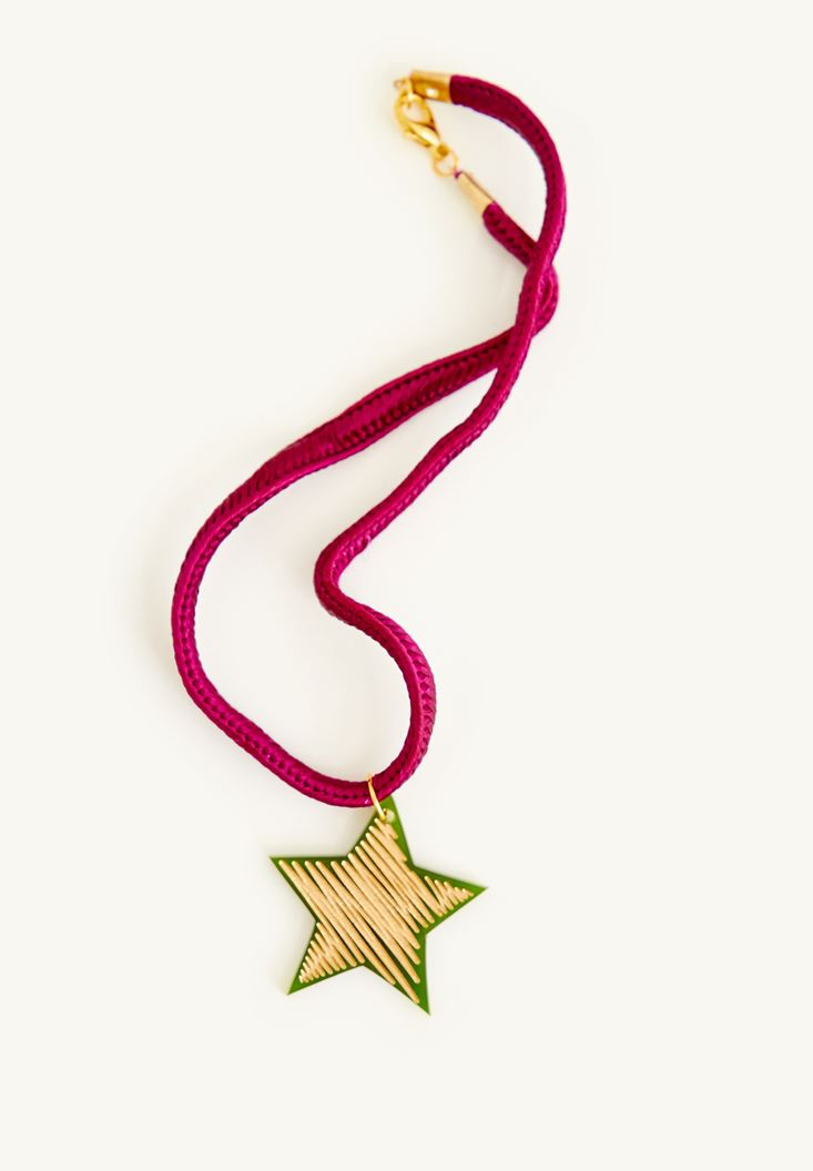 Mixed Necklace With a Star