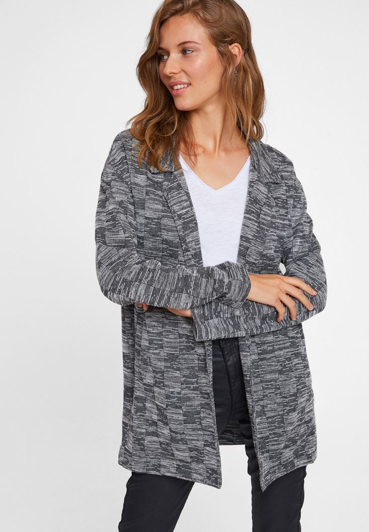 Mixed Cotton Jackets With Long Sleeve
