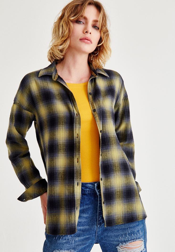 Mixed Shirts With Check Pattern