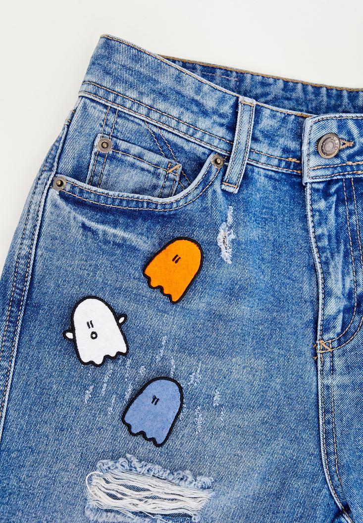 Mixed Ghost Pin