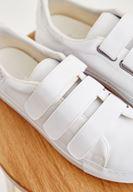 Bayan Beyaz Bantlı Spor Ayakkabı