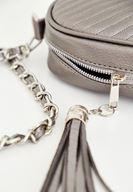 Bayan Gümüş Zincir Askılı Küçük Çanta