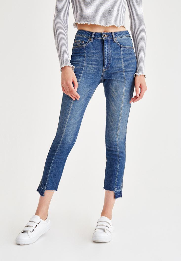 Mavi Yüksel Bel Kalem Paça Slim Denim Pantolon