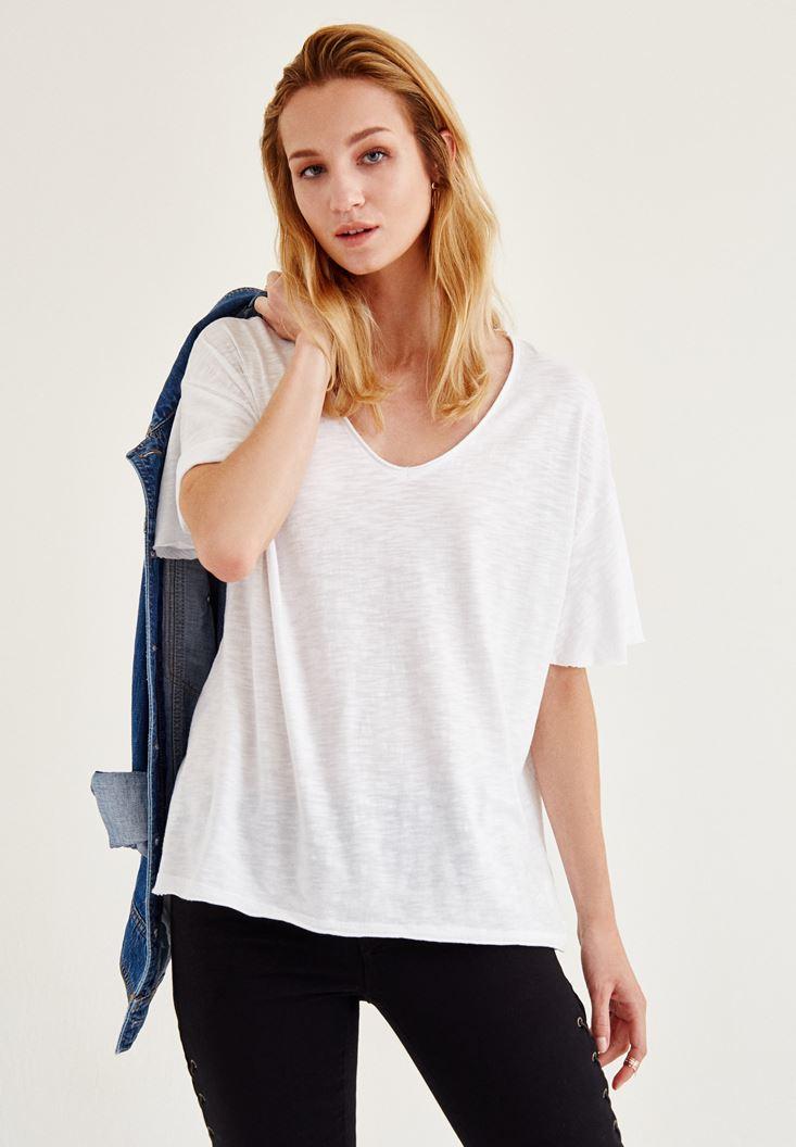 Uzun Basic Tişört
