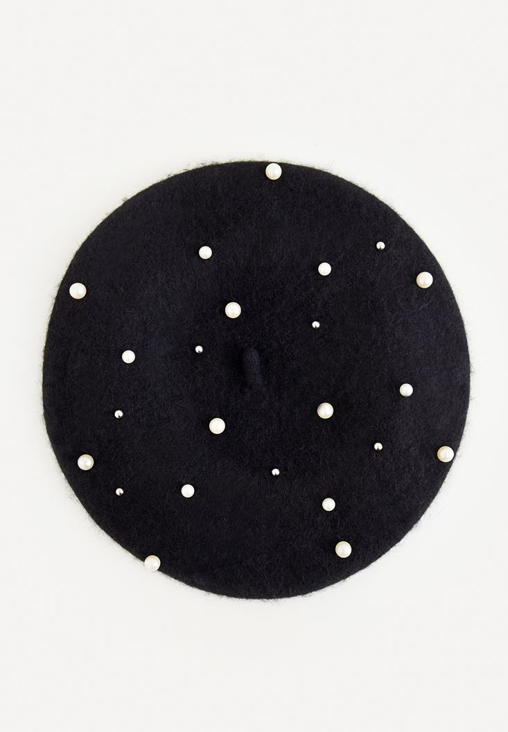 Siyah İncili Şapka