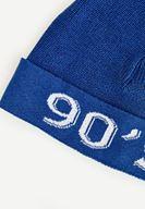 Bayan Lacivert Slogan Şapka