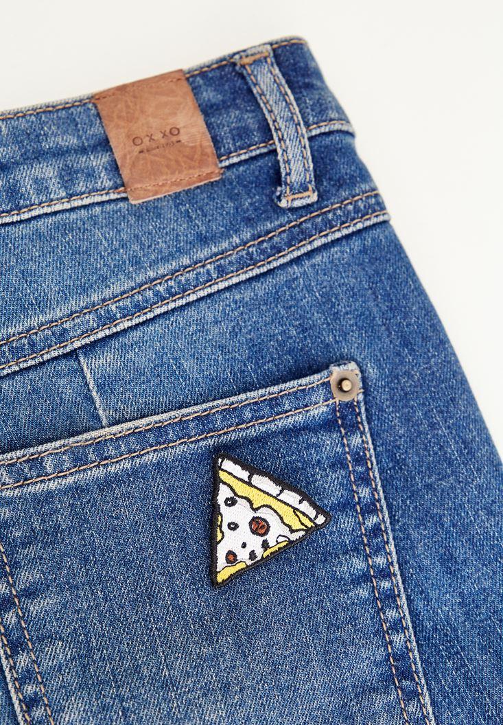 Mixed Pizza Symbol Pin