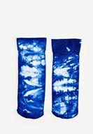 Bayan Mavi Yıkamalı Çorap