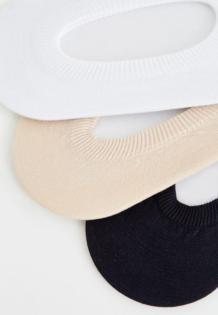 Bayan Çok Renkli Çorap Seti