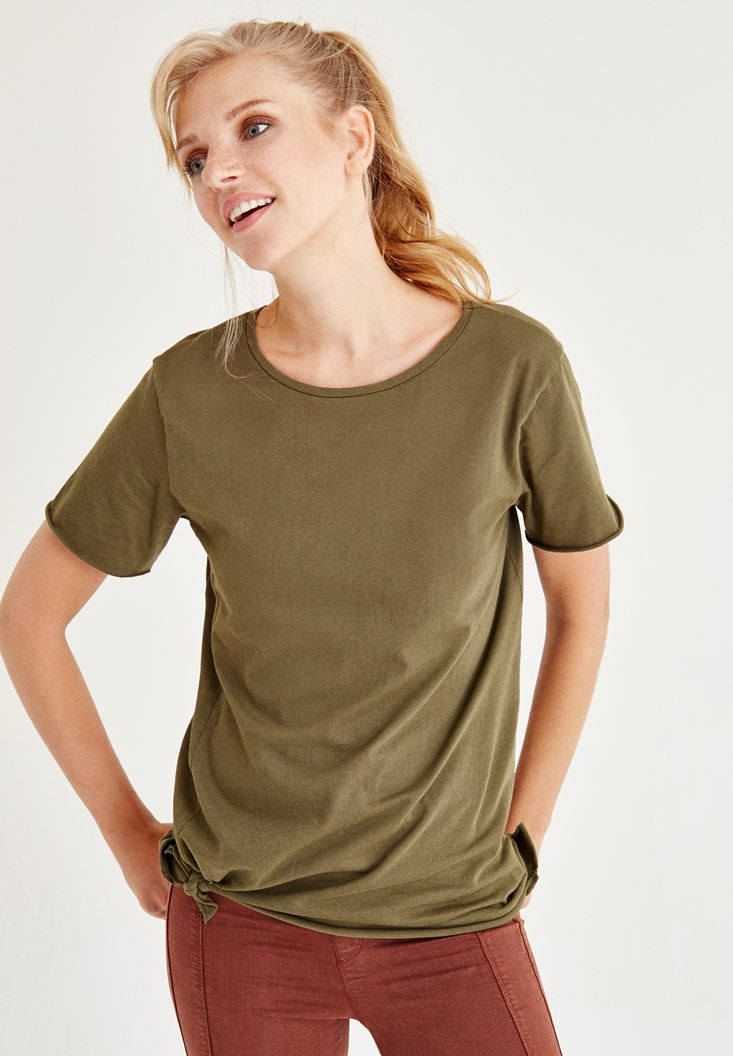 Green Long T-Shirt