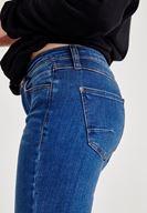 Women Blue Low Rise Skinny Denim