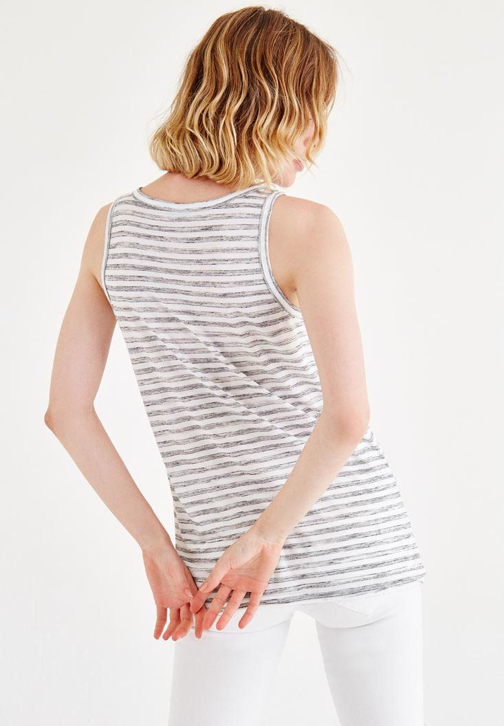 Women Mixed Striped Athlete