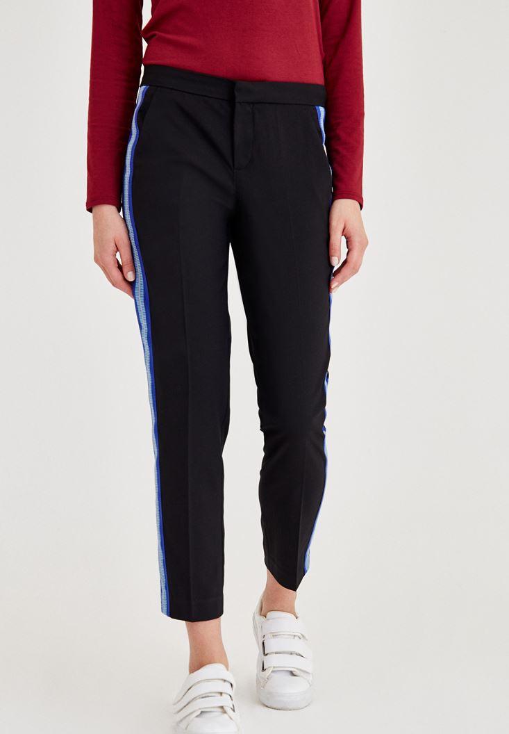 Çok Renkli Normal Bel Kumaş Pantolon