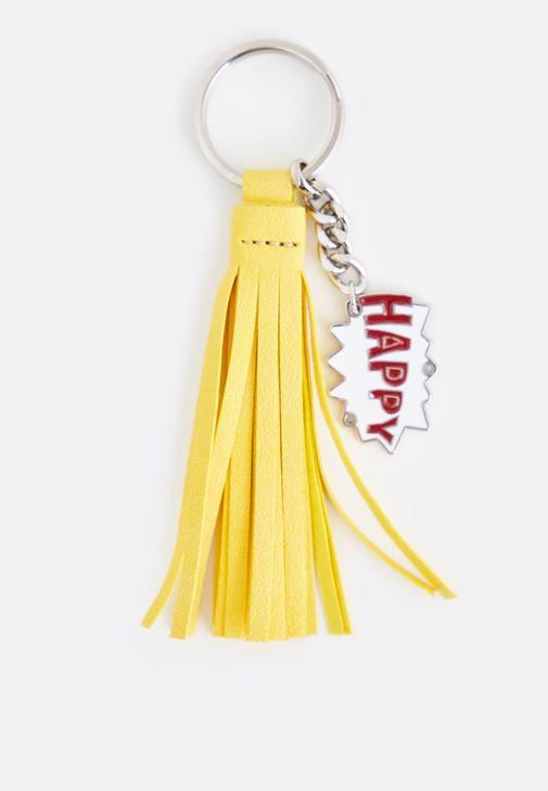 Sarı Püskül Anahtarlık