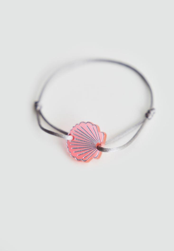 Bayan Çok Renkli Deniz Kabuğu Bileklik