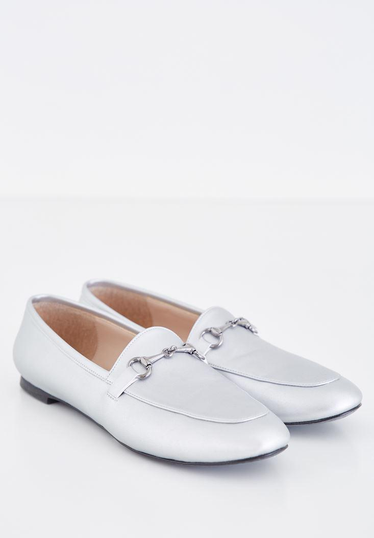 Women Grey Loafer
