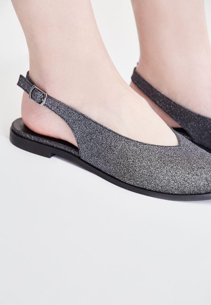 Arkası Açık Ayakkabı