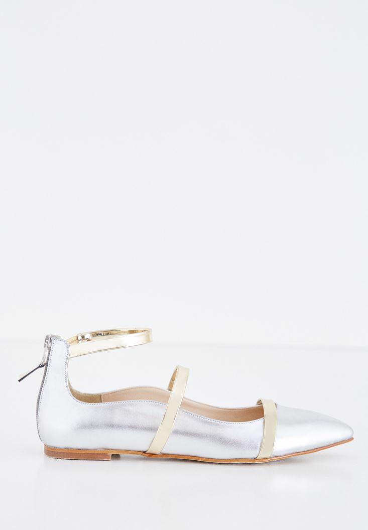 Women Grey Pointy-toed Babette
