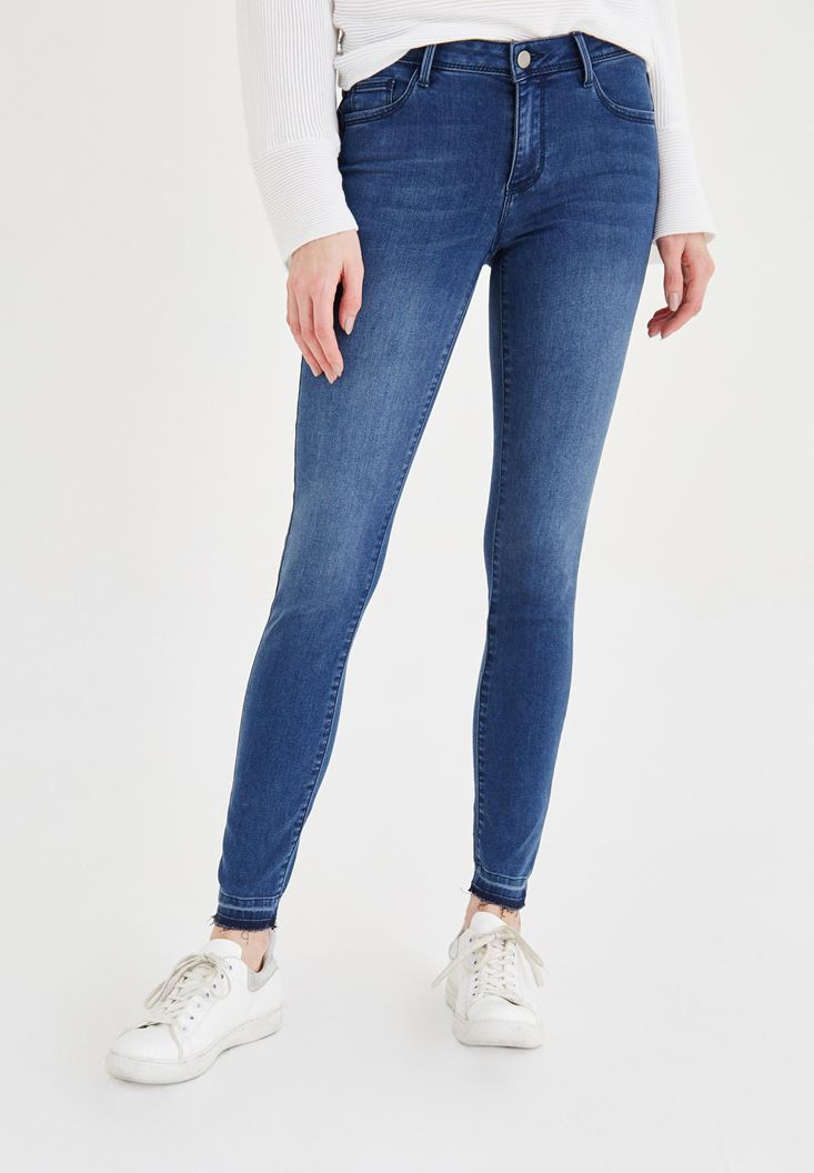 Mavi Normal Bel Skinny Jean