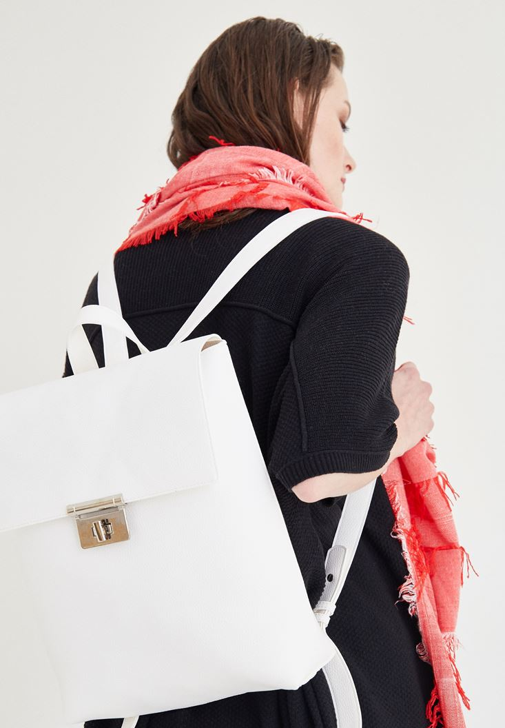 White Back Bag