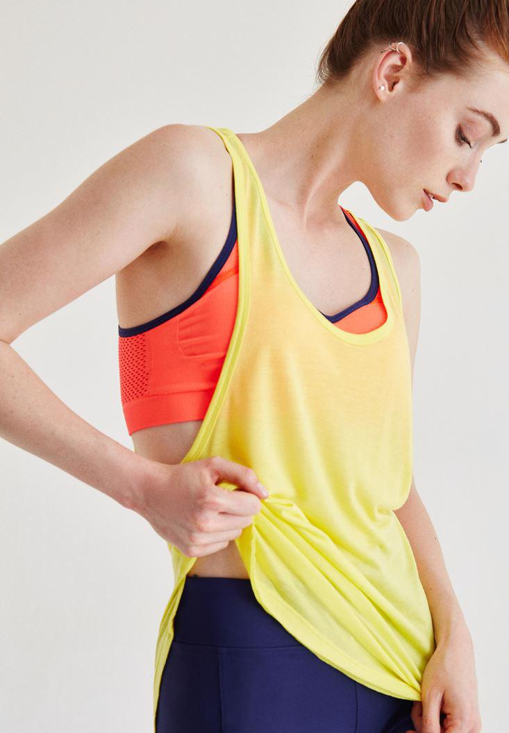 Women Yellow Sport Athlete