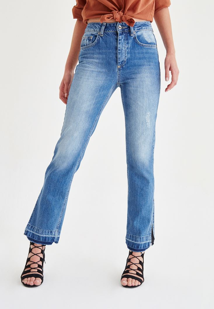 Blue Loose Jeans