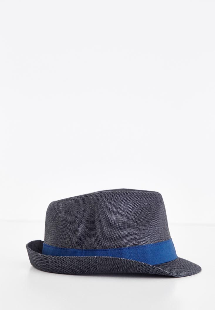 Bayan Siyah Fötr Şapka