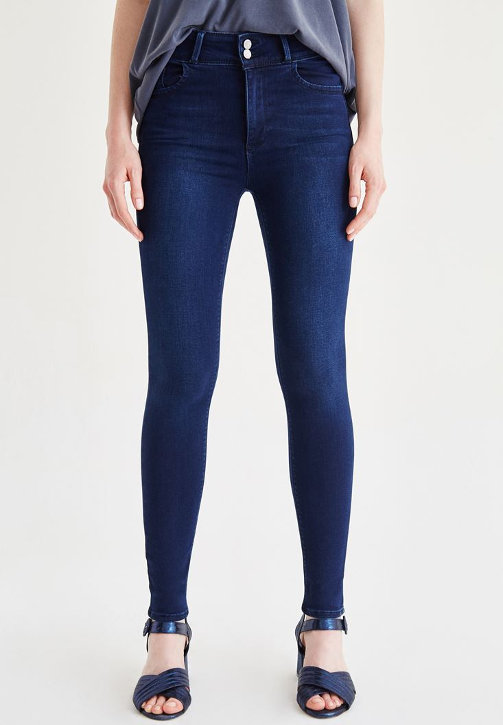 Blue Skinny Jean