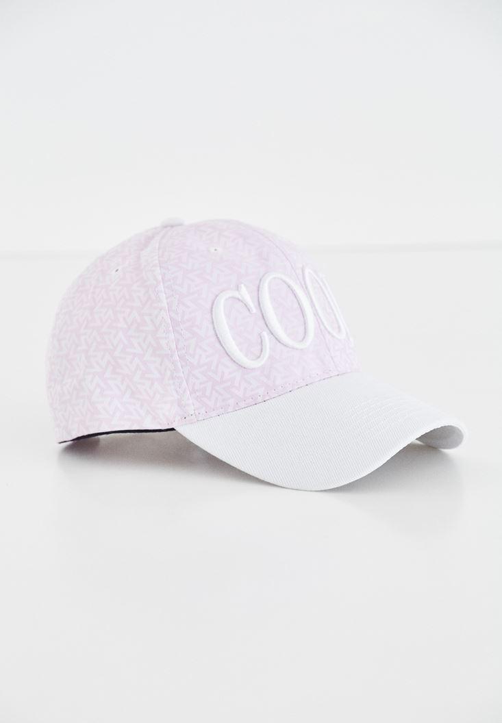 Pembe Sloganlı Şapka