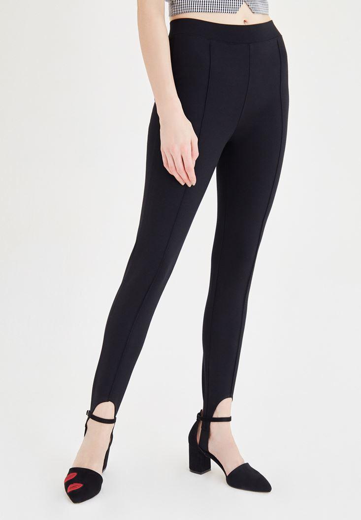 Siyah Füzo Pantolon
