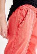 Bayan Kırmızı Bol Pantolon