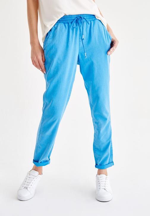 Mavi Bol Pantolon