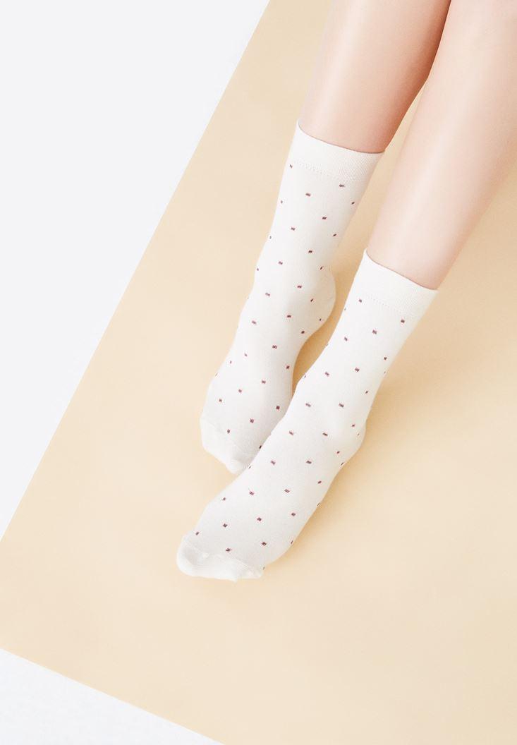 Benekli Çorap