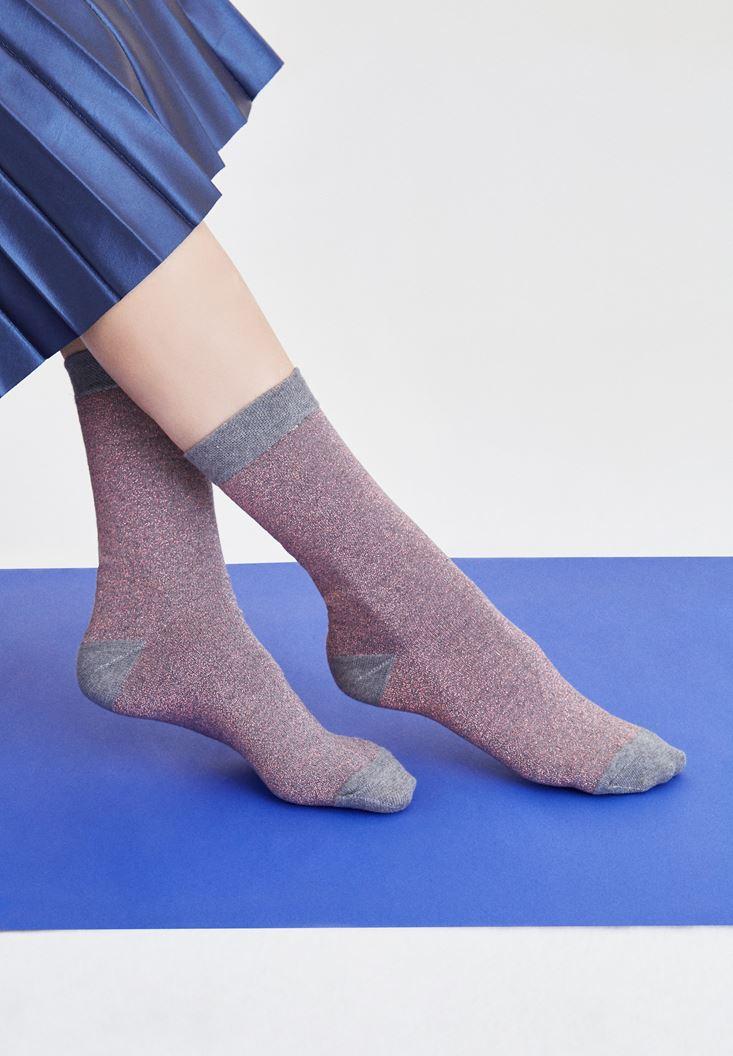 OXXO Simli Çorap