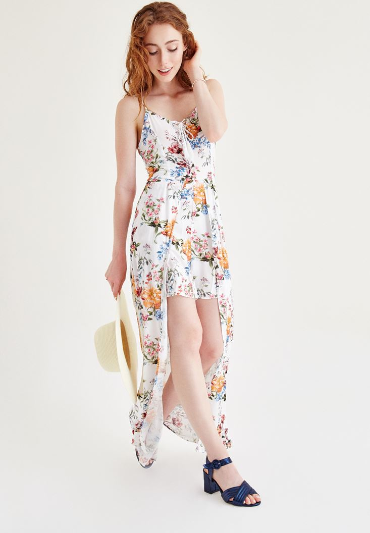 Mixed Printed Jumpsuit