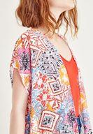 Women Mixed Kimono With Pattern