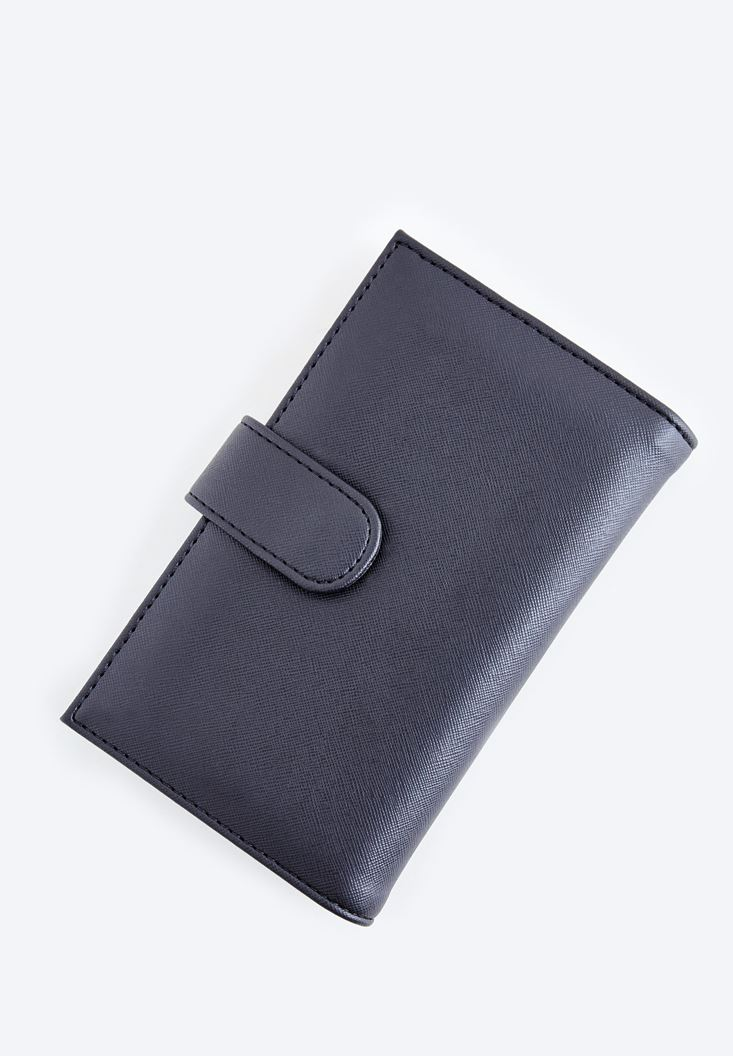 Siyah Kartlıklı Cüzdan