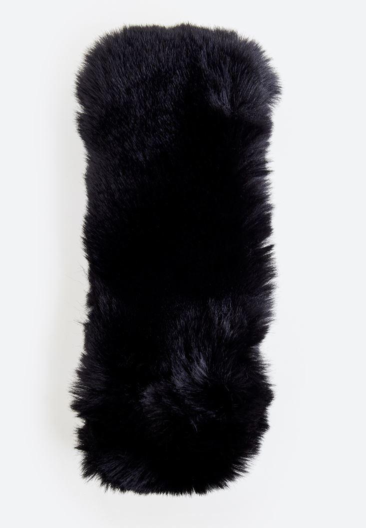 Siyah Tüy Boyunluk