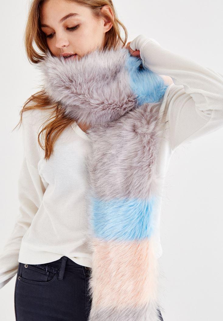 Mixed Colorful Long Fur