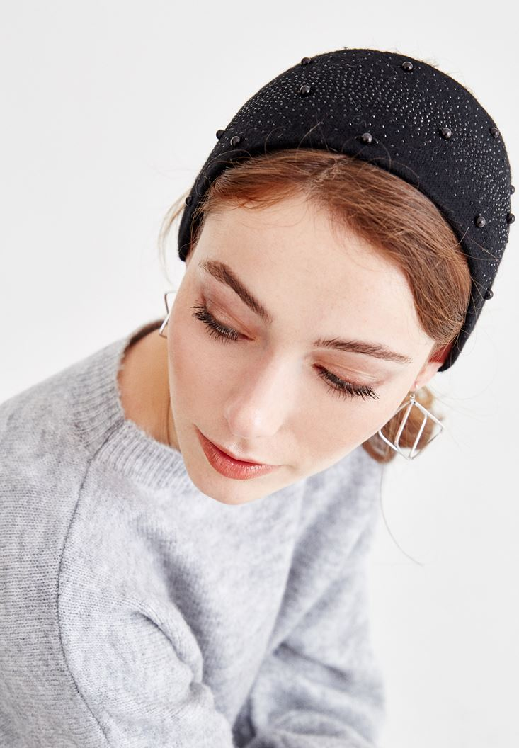 Black Hairband with Details