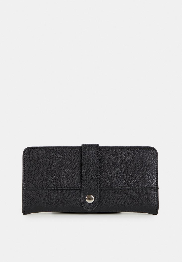 Black Wallet with Details