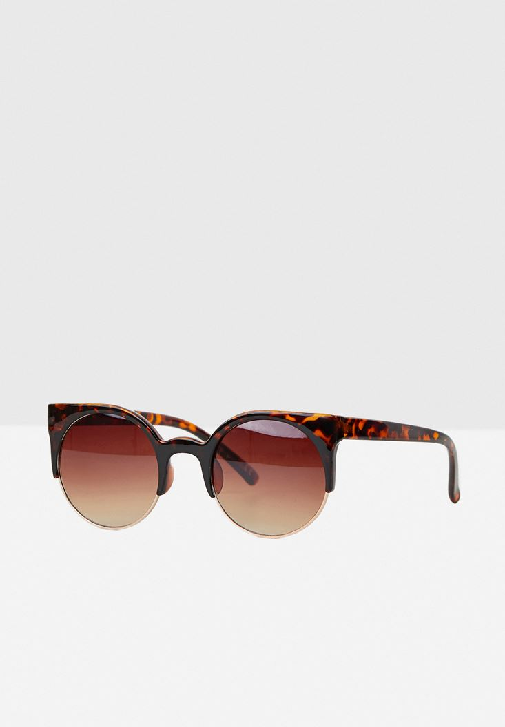 Mixed Detailed Sunglasses