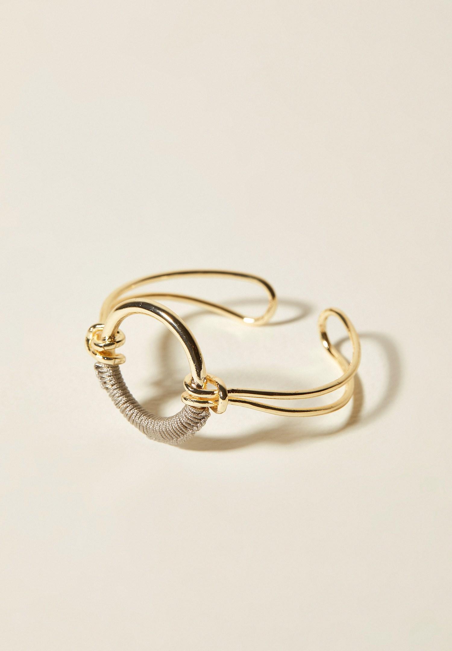 Women Mixed Contrasting String Bracelet