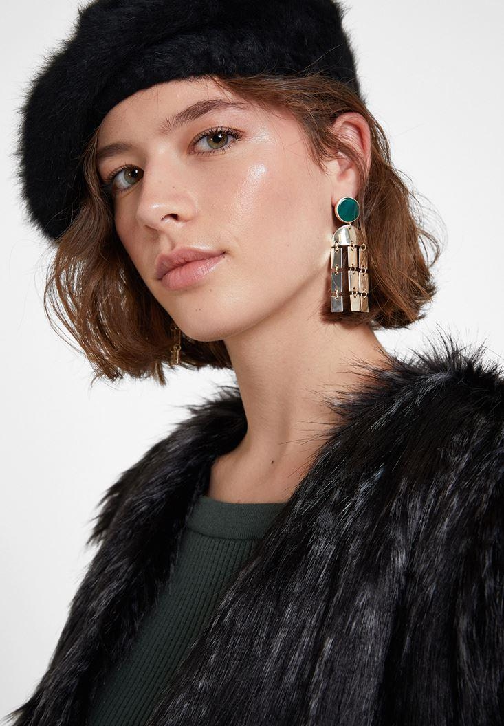 Mixed Gem Earrings