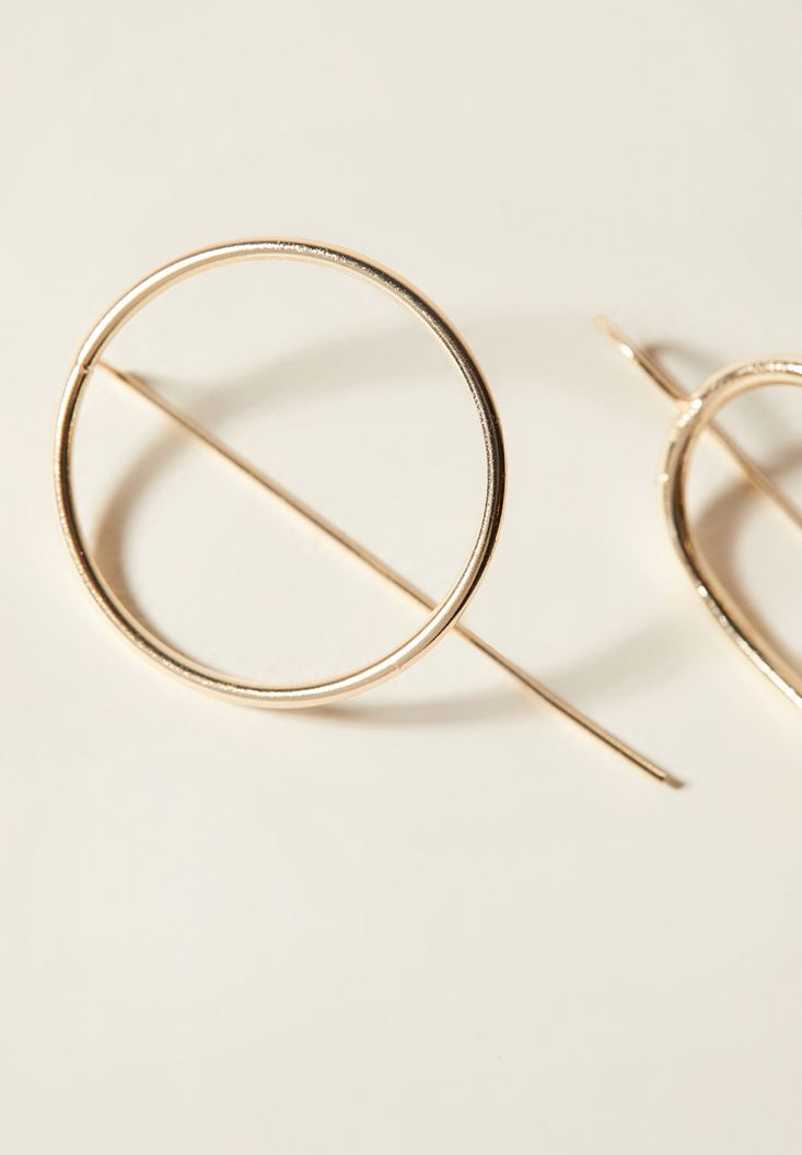 Mixed Hoop Earrings with Details